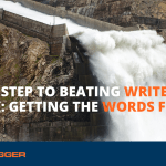 Third Step to Beating Writer's Block: Getting the Words Flowing