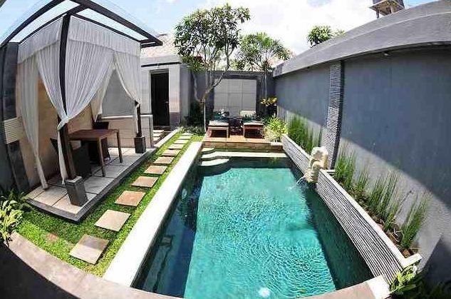Kolam Renang dalam rumahSwimming pool at home