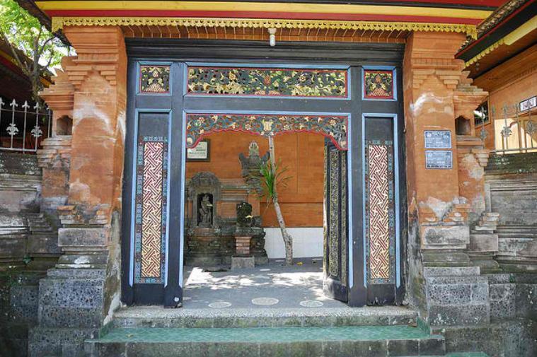 Pagar Gaya Bali  Arsitektur rumah tinggal dan desain interior