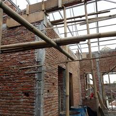 Biaya Baja Ringan Dan Genteng Pemasangan Atap Konstruksi Untuk Rumah Tinggal ...