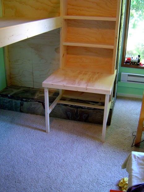 Cara membuat tempat tidur tingkat untuk kamar anak DIY