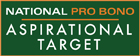 National Pro Bono Aspirational Target