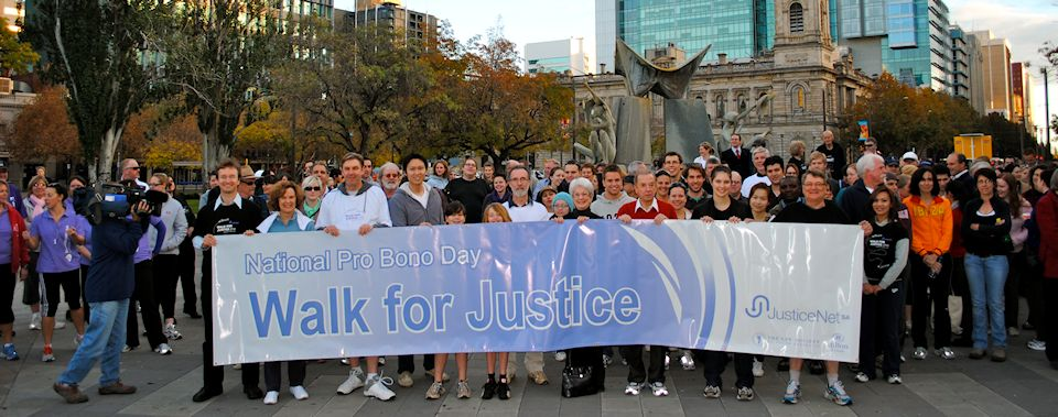 Walk for Justice 2010 - South Australia