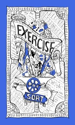 UnBias Awareness Cards – Exercise Suit Illustration