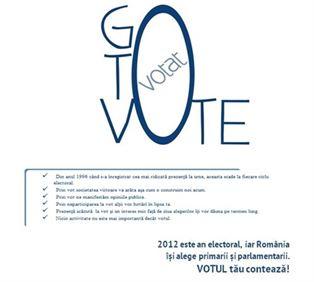 Braila face parte din proiectul GO TO VOTE! pentru alegerile parlamentare