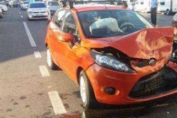 Sofer baut a produs un accident pe Bulevardul Dorobantilor