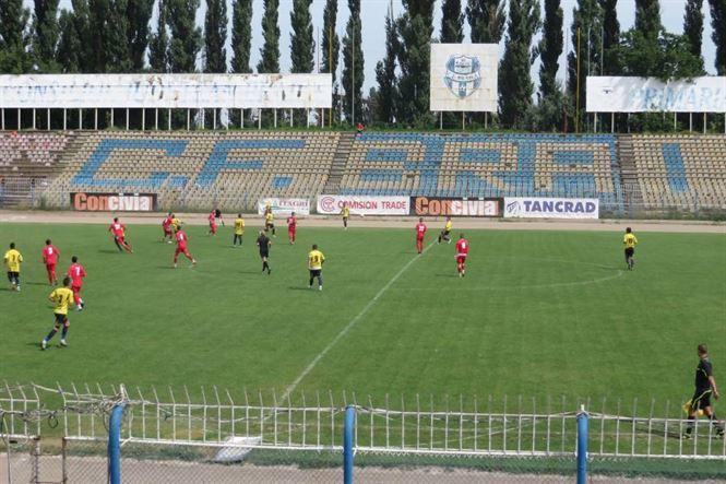 Cinci goluri in primul amical pentru echipa de Liga a 2-a a CF Braila