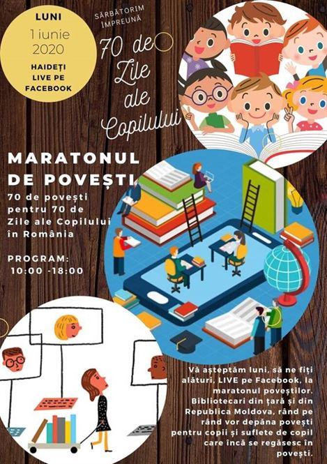 Biblioteca Panait Istrati a participat la Maratonul Poveștilor