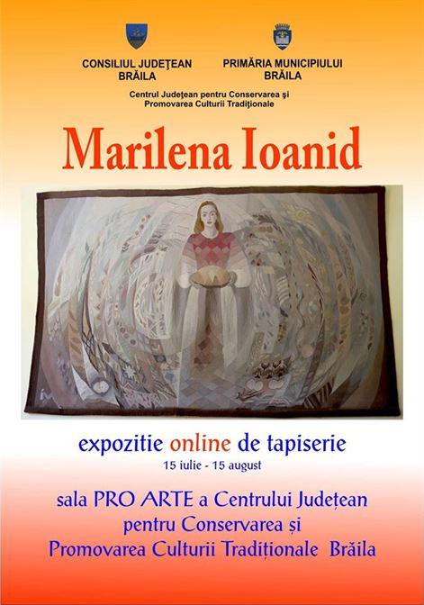 Expoziţie online de tapiserie realizată de Marilena Ioanid - Sala ProArte