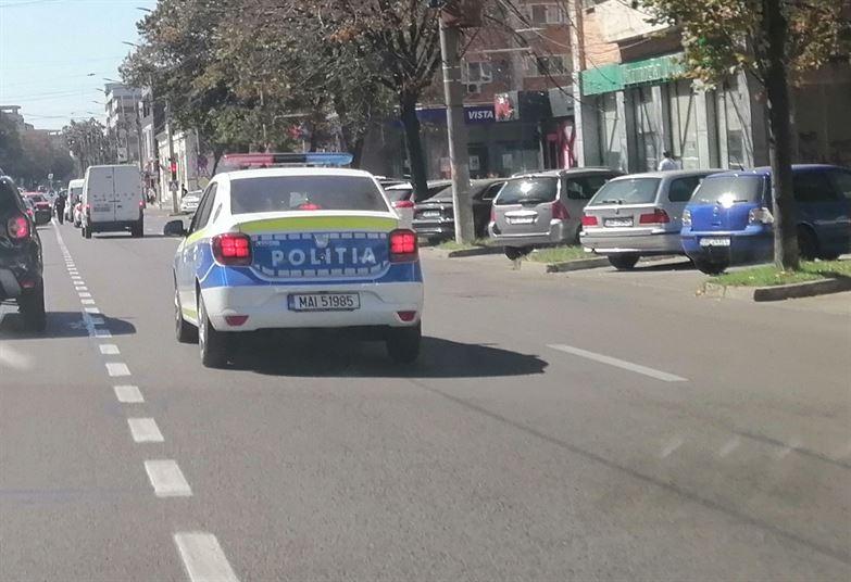 Polițiștii de la rutieră au aplicat 617 sancțiuni în ultima săptămână