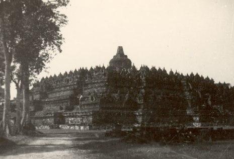 Borobudur, der grösste Buddha Tempel in Java