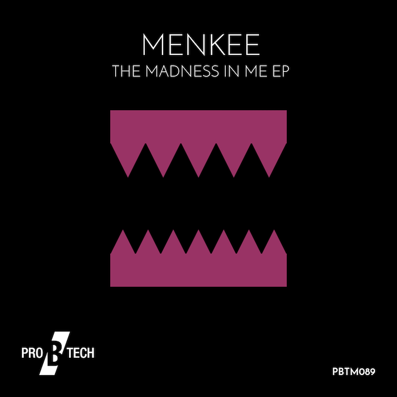 Menkee-The-Madness-in-me-EP-cover