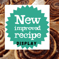 Mary's recipes have been updated
