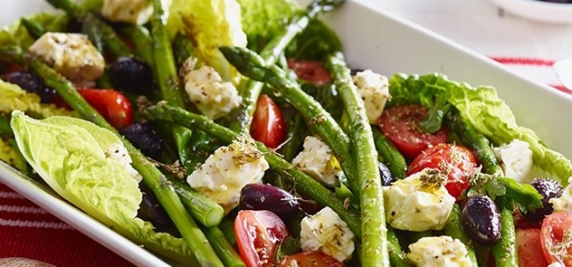 Asparagus, Tomato and Fetta Salad