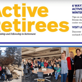 July August issue of Active Retirees Digital magazine.