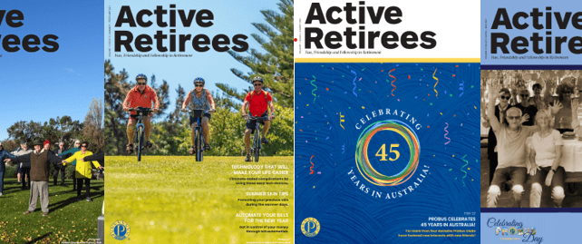 Welcome to the June – July Issue of Active Retirees digital magazine.
