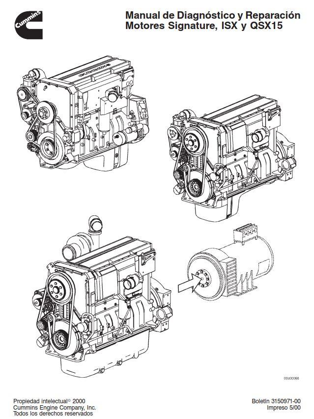 Cummins 2000 ISX QSX15 Repair Manual