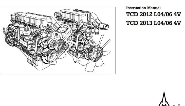 DEUTZ Engine TCD 2013 L04/06 4V Instruction Manual (0312