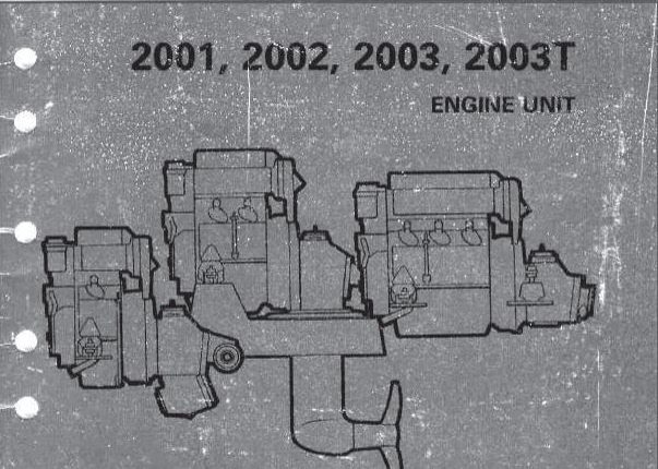 Volvo Penta 2001, 2002, 2003, 2003T Engine unit WORKSHOP
