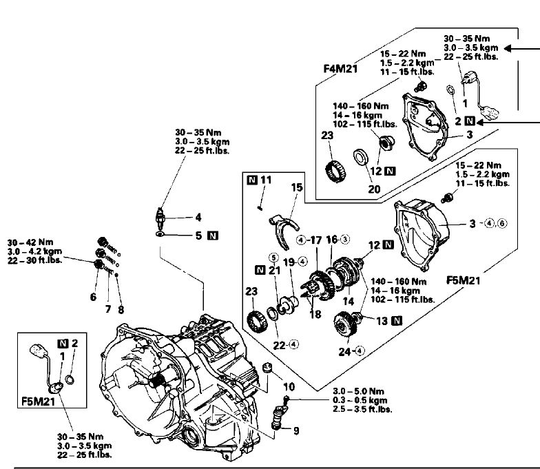 Mitsubishi Rear Wheel Drive Automatic Transmission