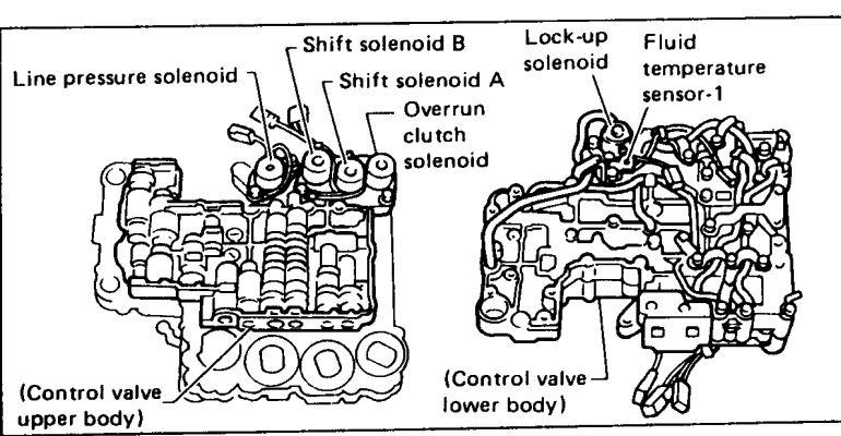 Nissan Mazda RE4R01A Transmission Repair Manual