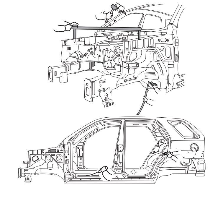 Kia Sportage Body Shop Manual (A1FB-EG48A)
