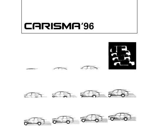 Mitsubishi Carisma 1996 Body Repair Manual (PBGE95E1
