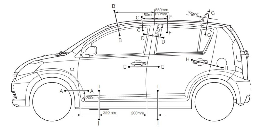 DAIHATSU SIRION Model M300 Series Service Manual (No.9890