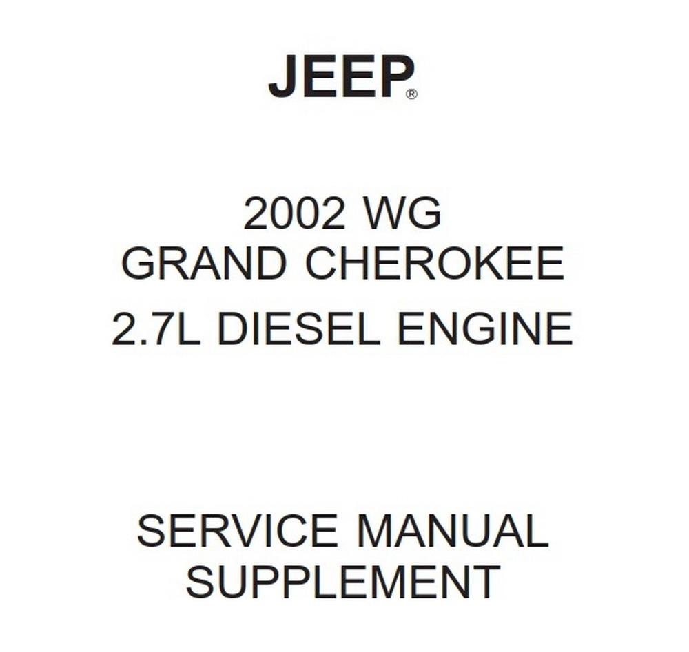 Jeep WG Grand Cherokee 2002 Service Manual