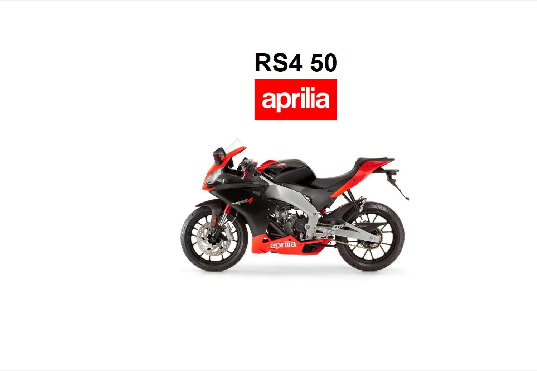 Aprilia RS4 50 2011 Owner's Manual