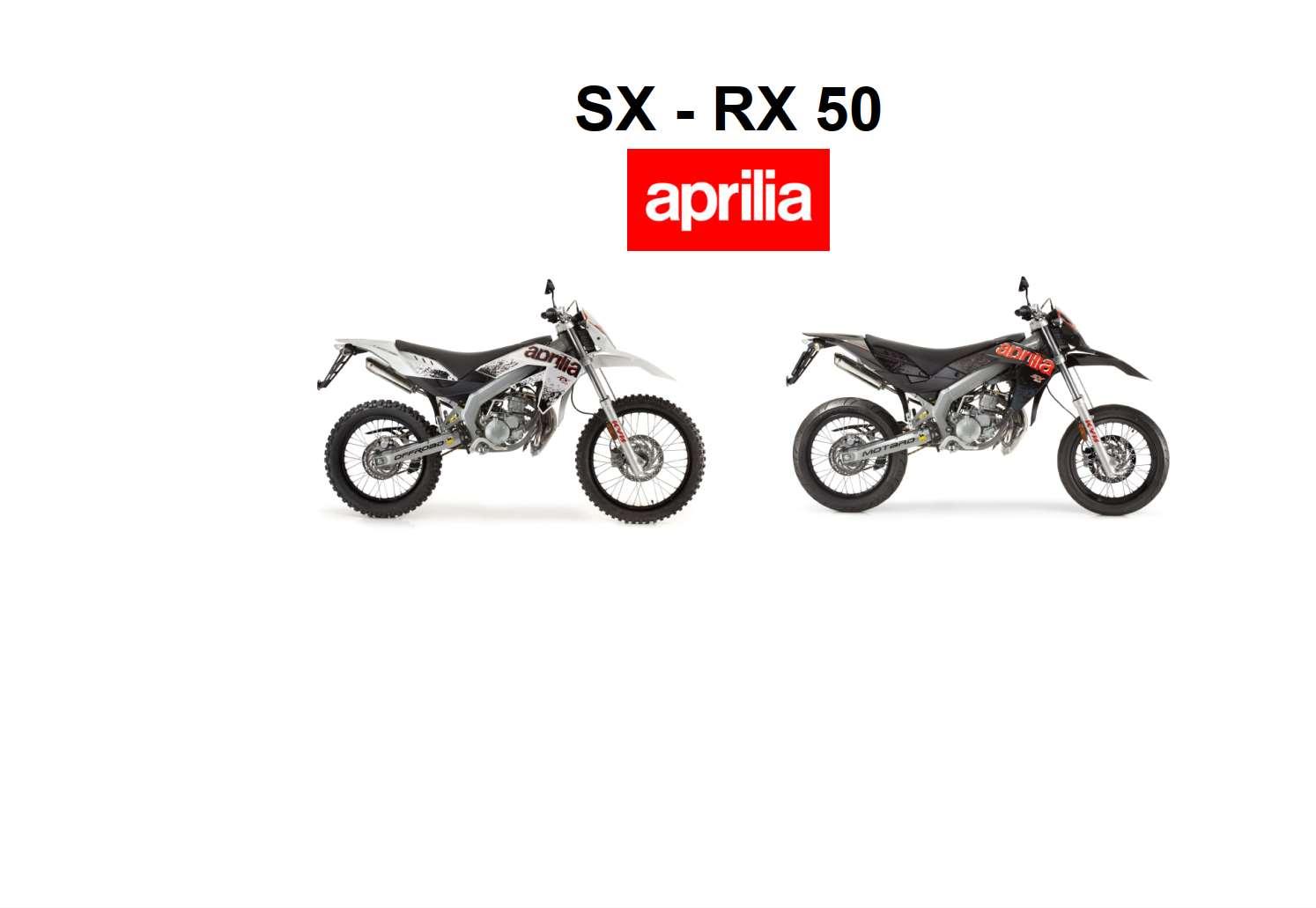 Aprilia SX-RX 50 2011 Owner's Manual