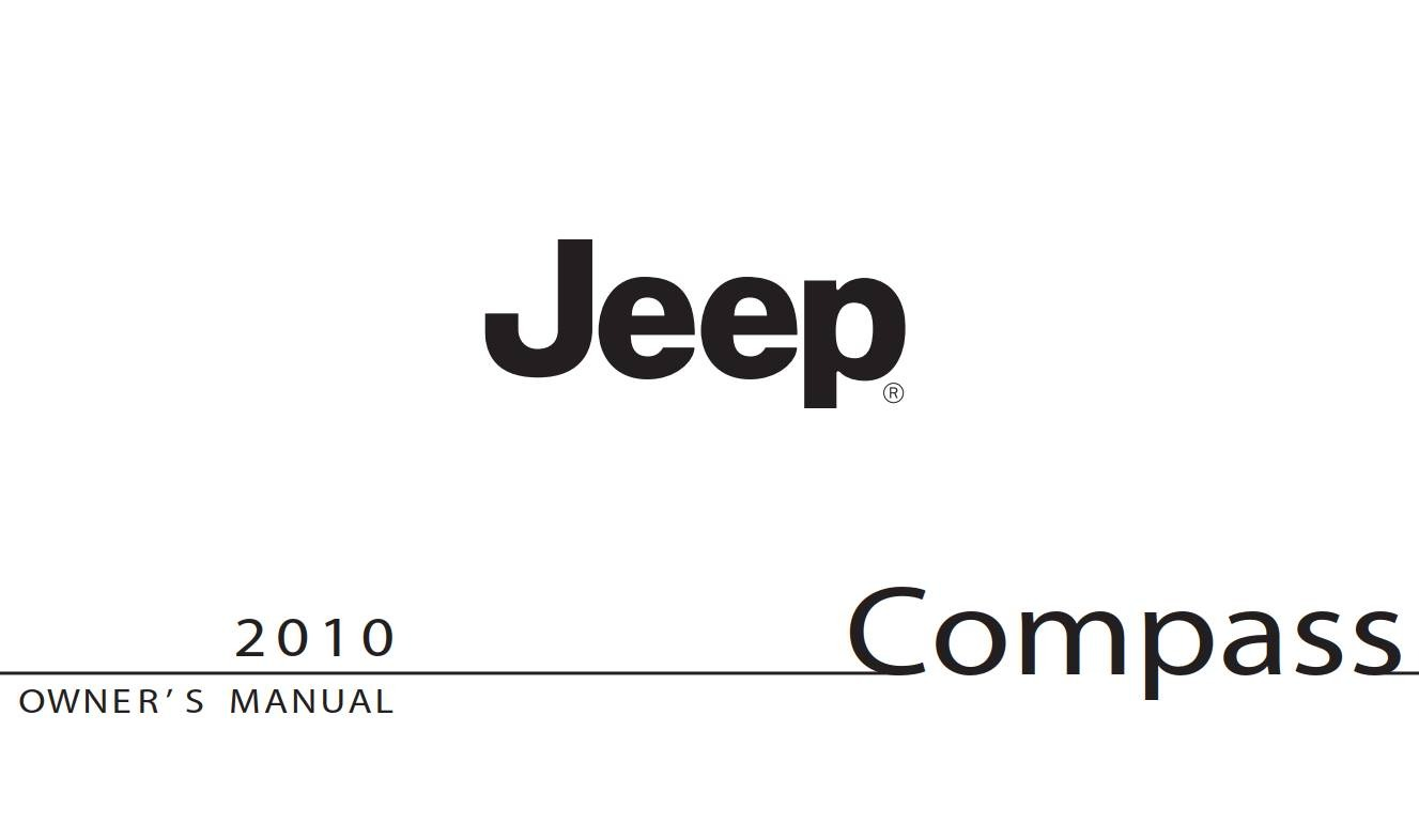 Jeep Compass 2010 Owner's Manual