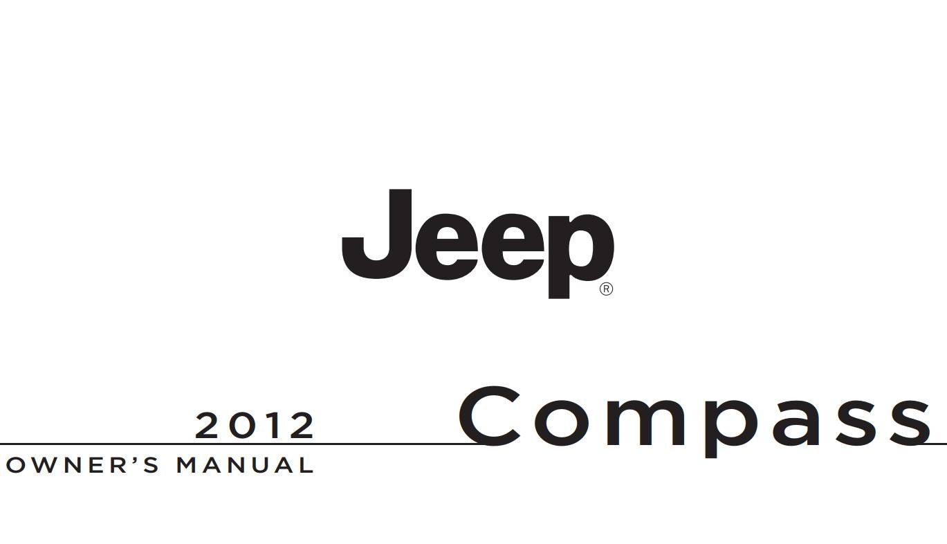 Jeep Compass 2012 Owner's Manual