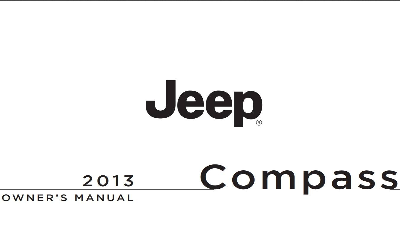 Jeep Compass 2013 Owner's Manual