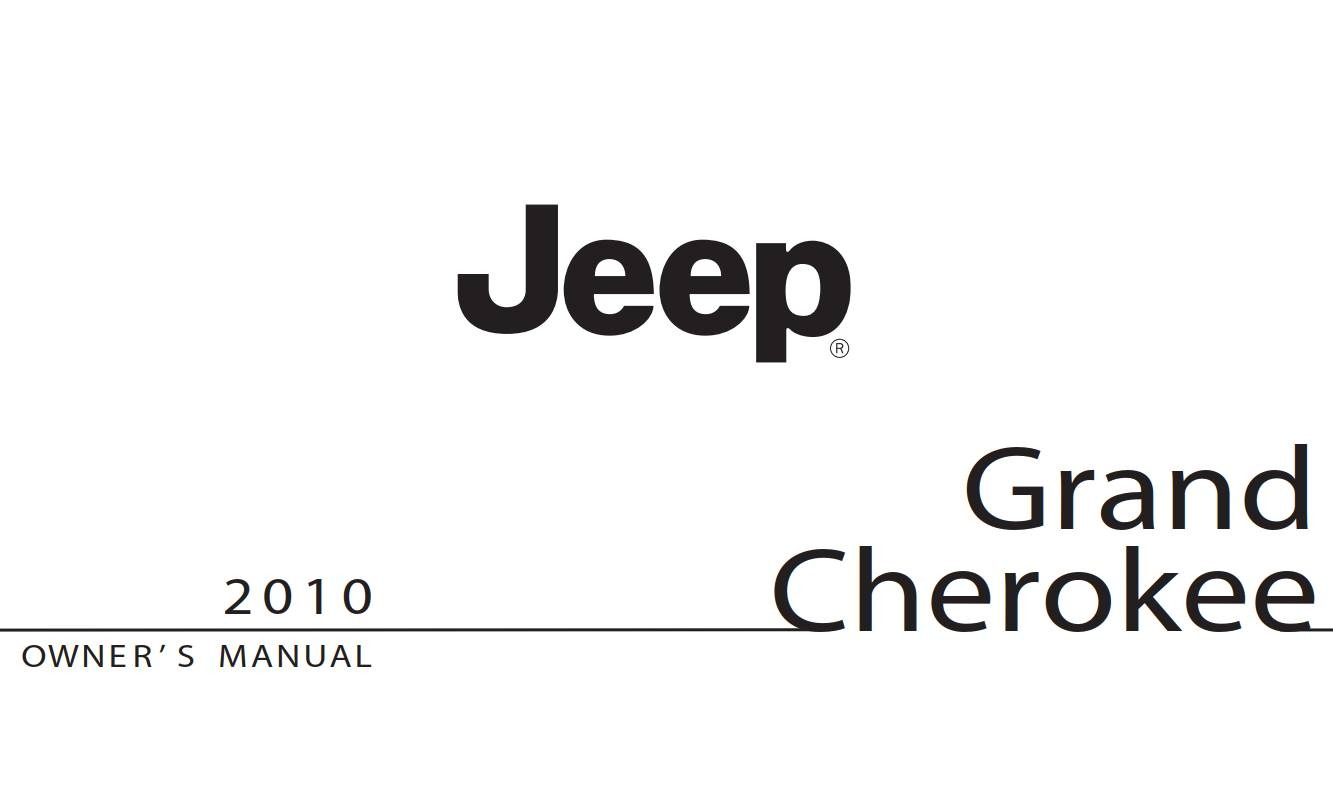 Jeep Grand-Cherokee 2010 Owner's Manual