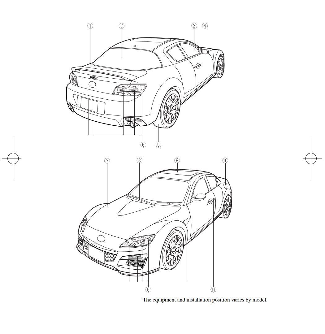 Mazda RX-8 2011 Owner's Manual