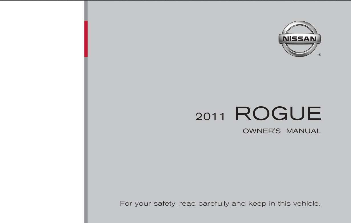 Nissan Rogue 2011 Owner's Manual