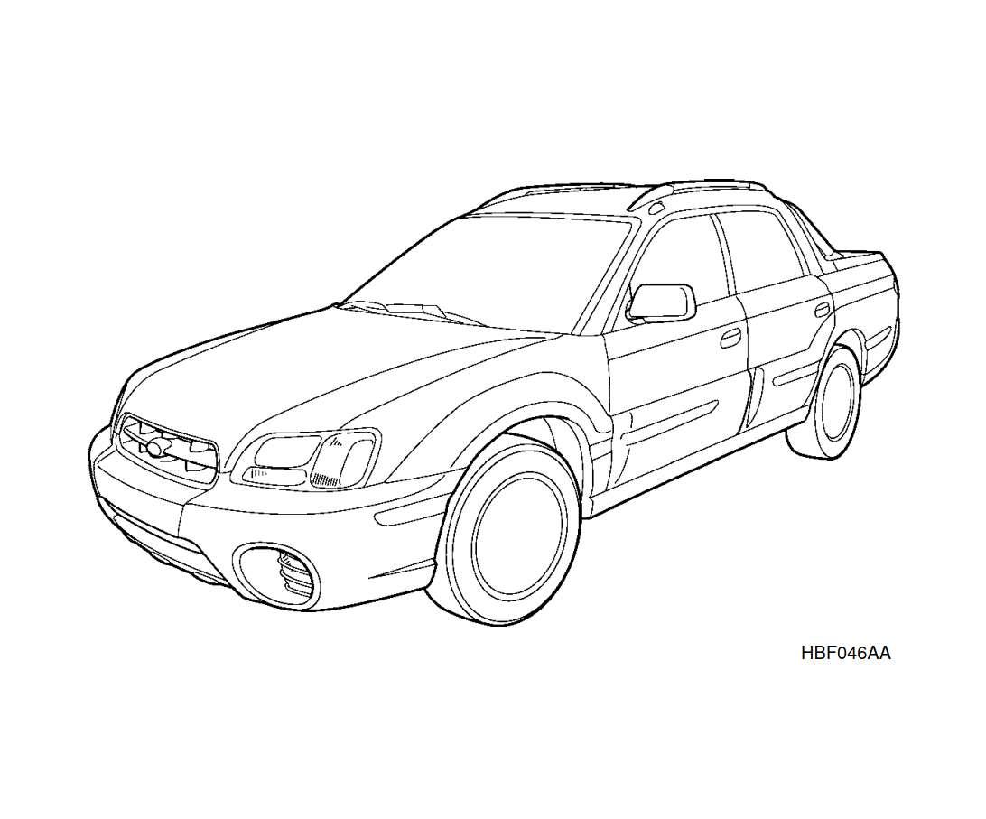 Subaru Baja 2003 Owner's Manual