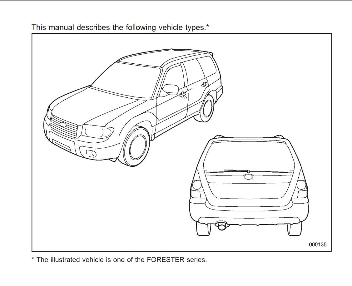 Subaru Forester 2.5x 2008 Owner's Manual