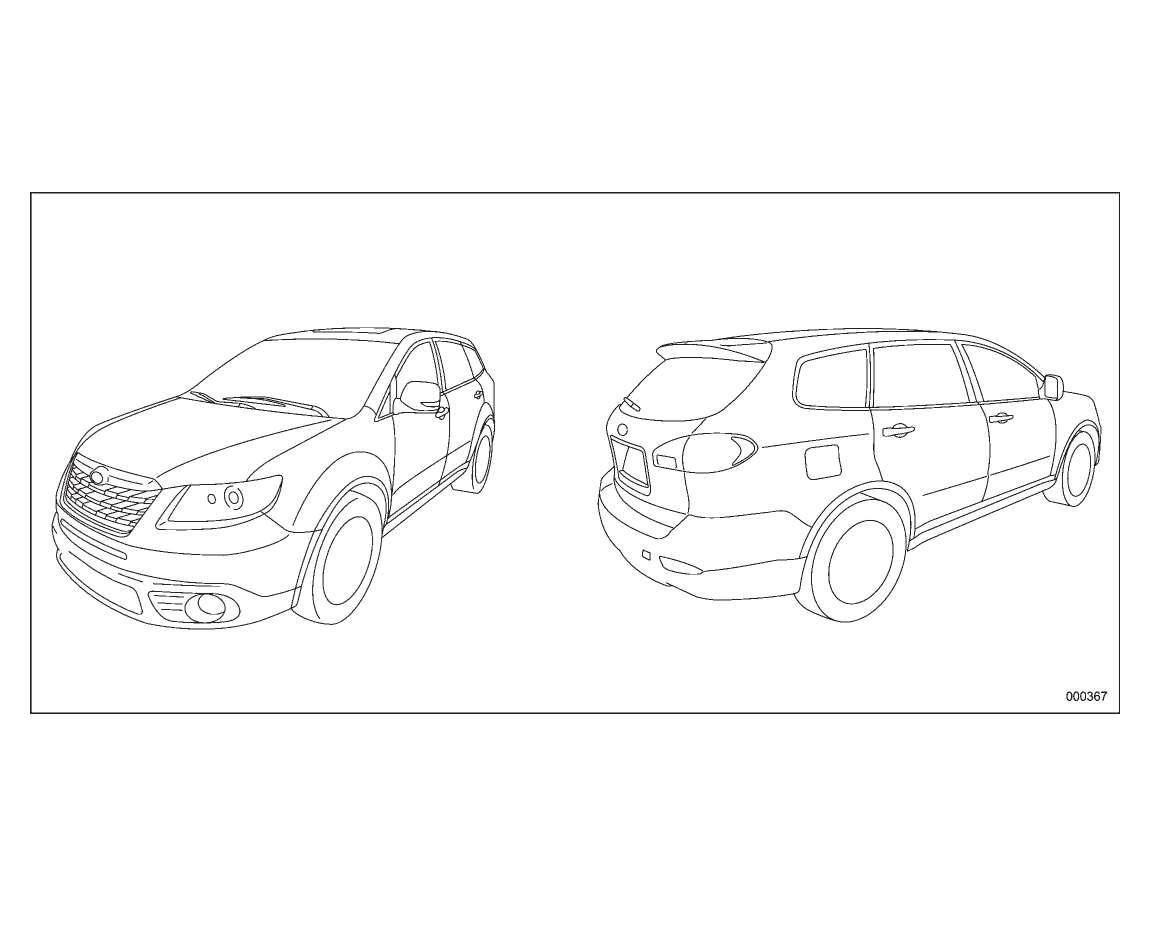Subaru Tribeca 2008 Owner's Manual