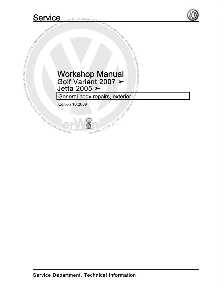Volkswagen Jetta 2005 Owner's Manual