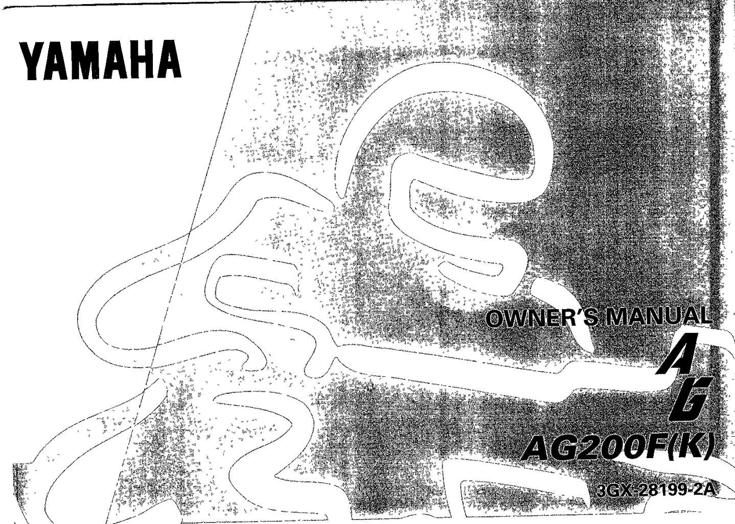 Yamaha AG200F K 1998 Owner's Manual