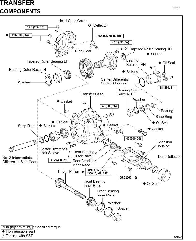 Toyota U140F Transmission Repair Manual (RM772U)