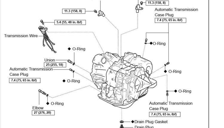 Toyota U151E / U151F Transmission Repair Manual (RM1021U