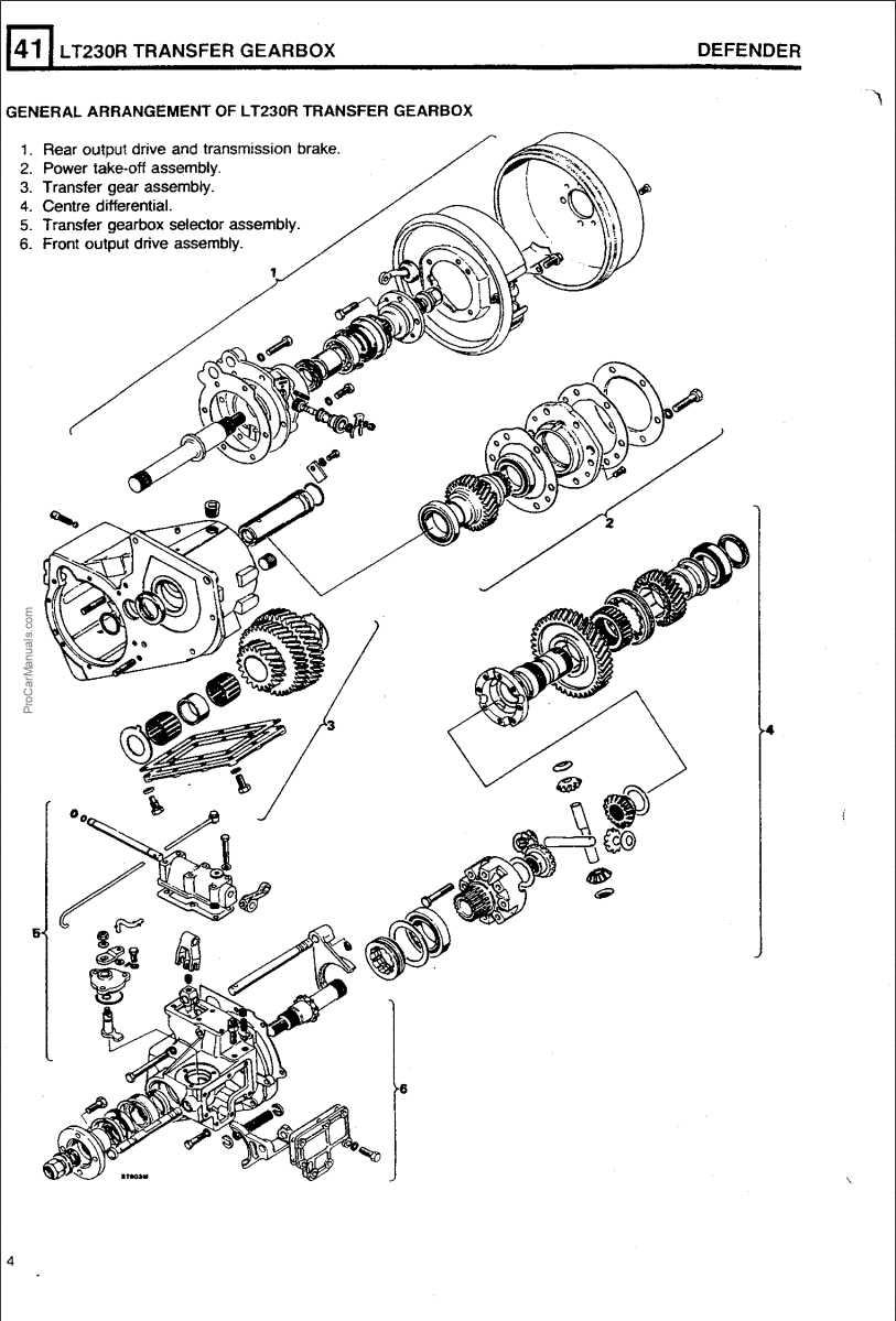 Defender LT230R Transfer Gearbox Repair Manual