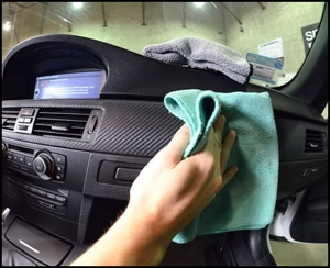 Cleaning The Dashboard