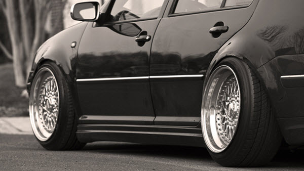 Properly Aligned Tires