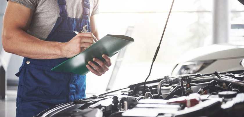 Mechanic Repairing Mercedes S-Class