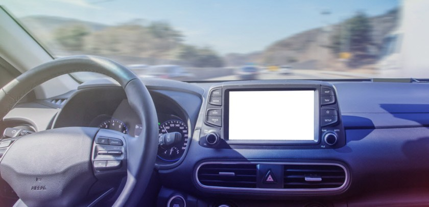 Car Center Multi-Function Display