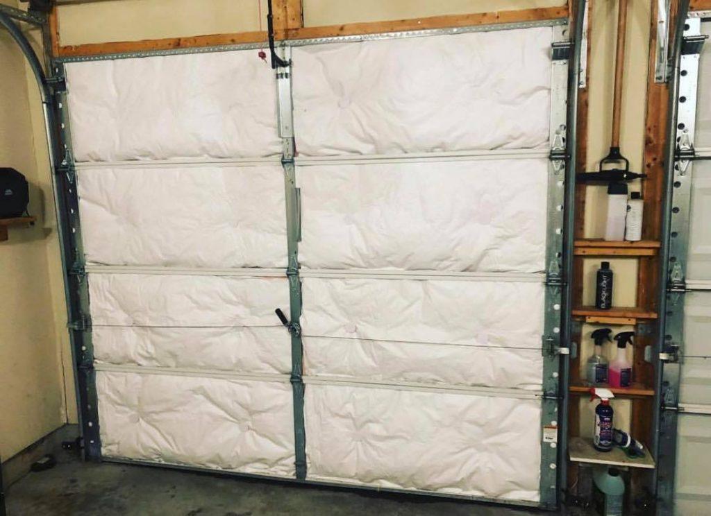 Other Garage Door Equipment Garage Door Insulation Kit 8 Pieces Moisture Resistant Polystyrene Plastic Foam Kristalle Com Br